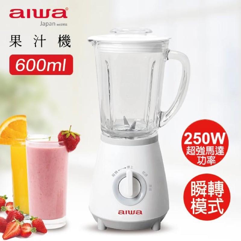 aiwa 愛華 果汁機 IWJ-198Y 白色