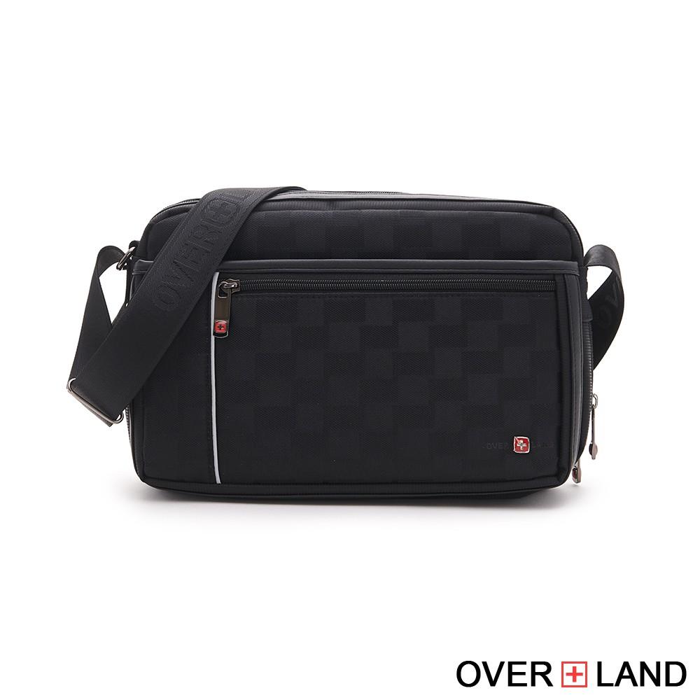 OVERLAND - 美式十字軍 - 禁衛軍格紋多層斜背包 - 5330