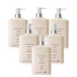 【澳洲Dr. V 】專業級配方-純淨溫和身體乳液-( 6入組-750ml/瓶)