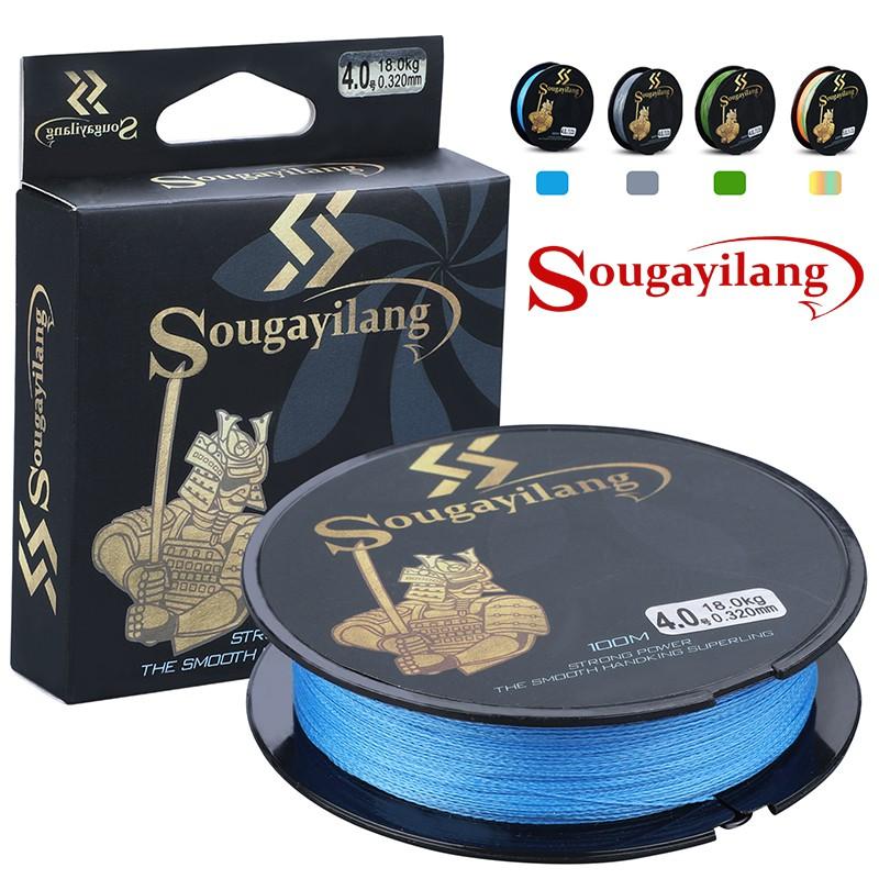 Sougayilang 嗖嘎一郎 釣魚線 魚線 100米 4股PE線 編織線 路亞 現貨 耐拉 釣魚 漁具用品 釣魚線