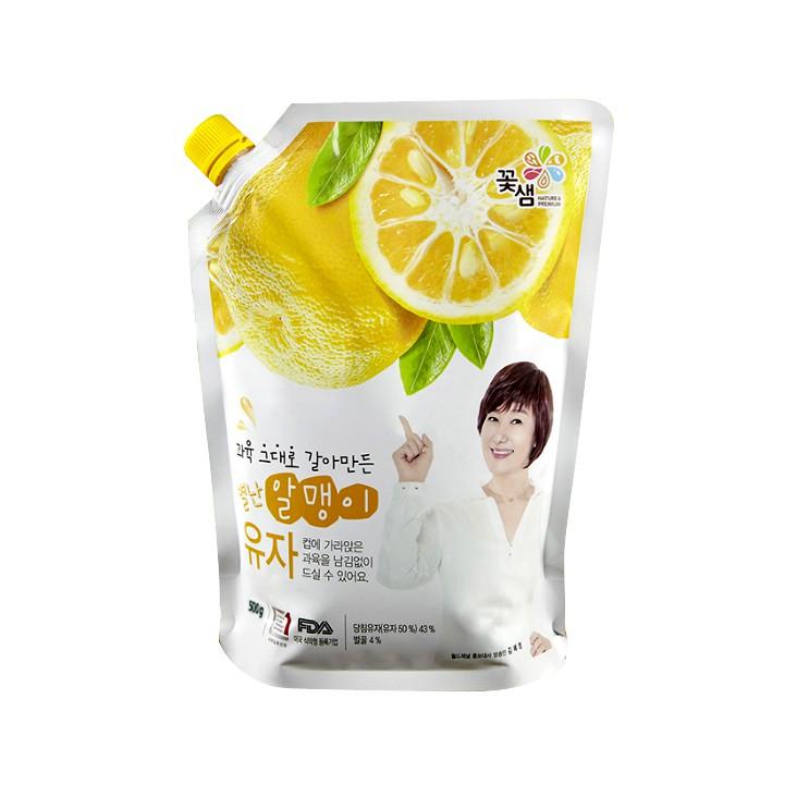 【花泉】蜂蜜柚子茶(袋裝果醬)1kg