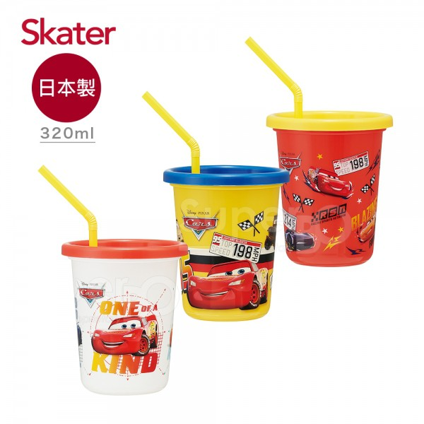 Skater | 派對水杯 | 日本製 | 320ml | 3入組 | 閃電麥坤