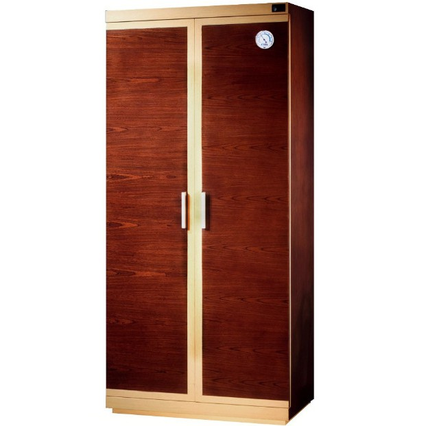 【防潮家】精品木質防潮鞋櫃/名牌包防潮櫃  SH-540胡桃木大型電子防潮箱