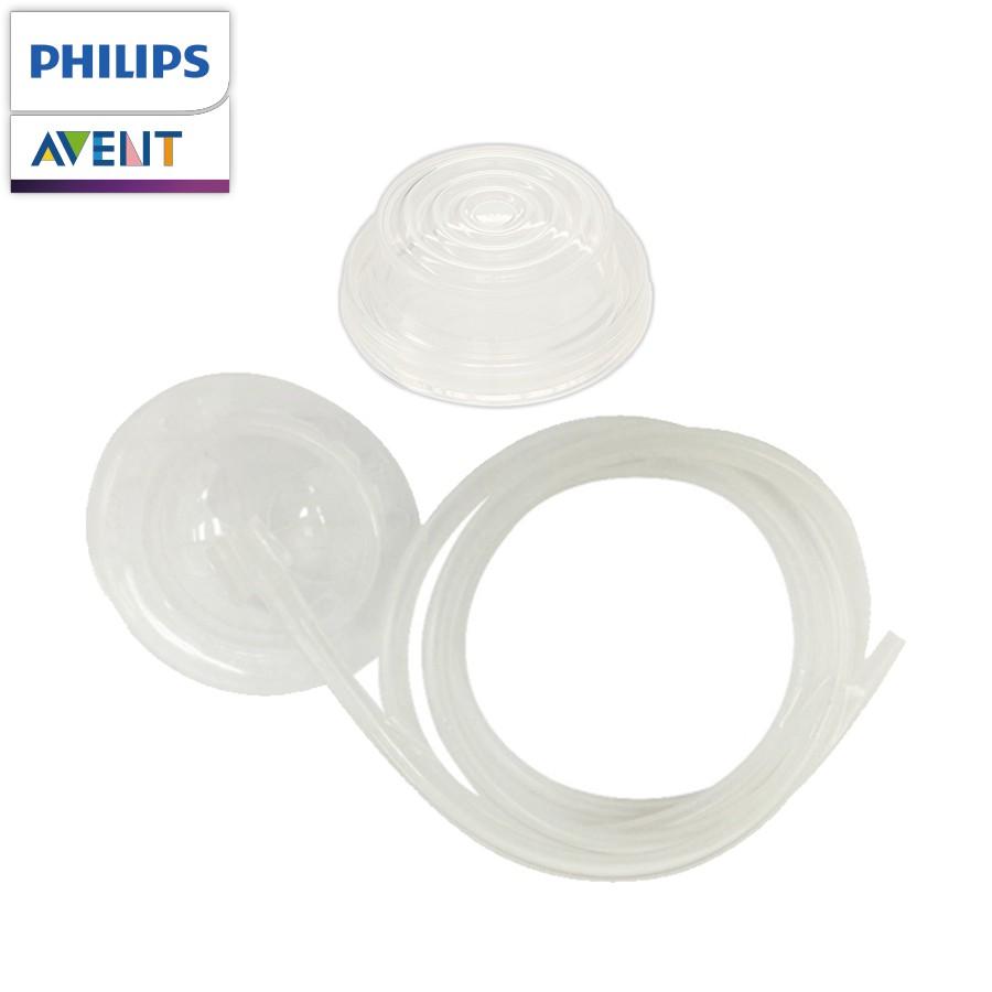 Philips Avent  輕乳感吸乳器專用矽膠耗材特販組(吸力管組+矽膠隔膜)(一組入)