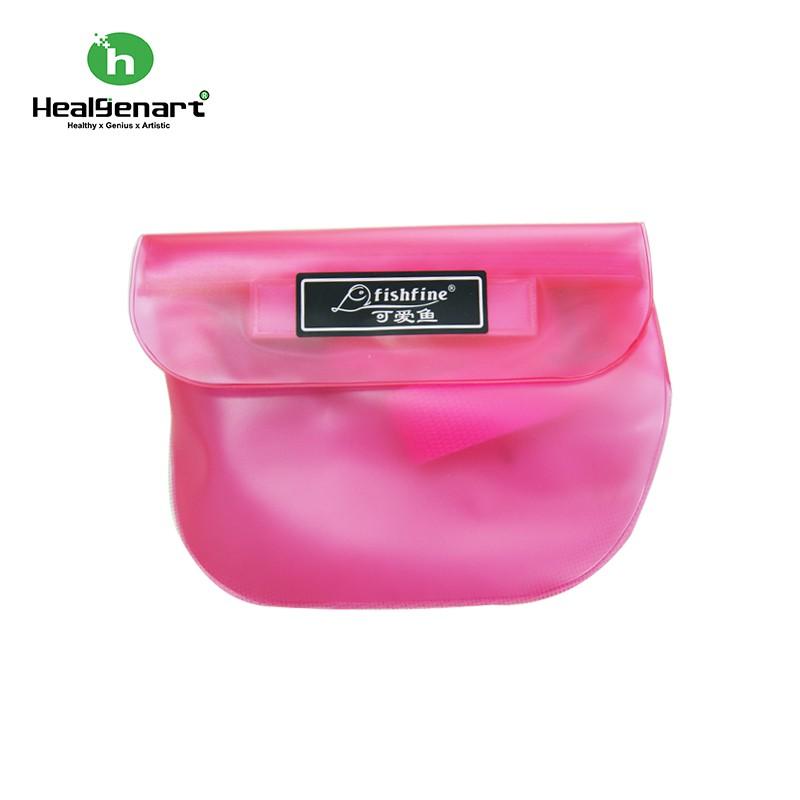 【Healgenart】防水腰包 3C產品防水腰包 衝浪 海邊 浮潛袋 潛水盒 防水袋 相機 鈔票 手機 兩層壓條