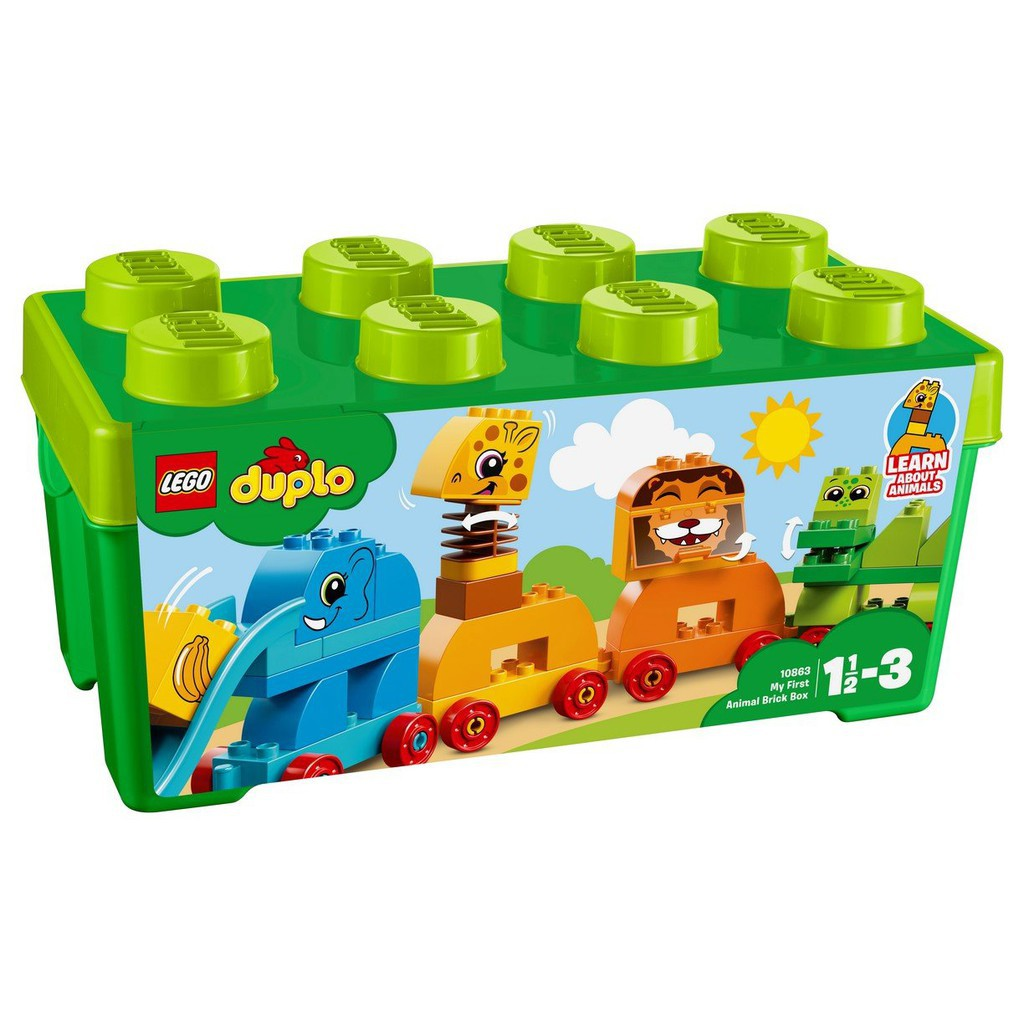 LEGO 樂高 10863 My First Animal Brick Box