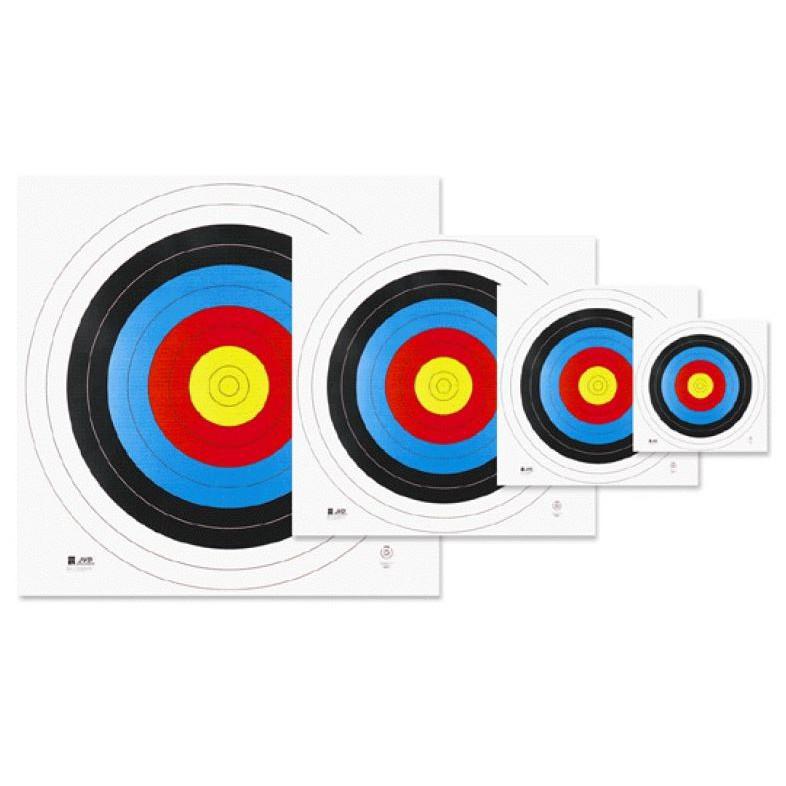 JVD 122cm 國際認證比賽用靶紙 FITA認證 複合弓 傳統弓 反曲弓 十字弓 Goodshot 專業射箭弓箭器材