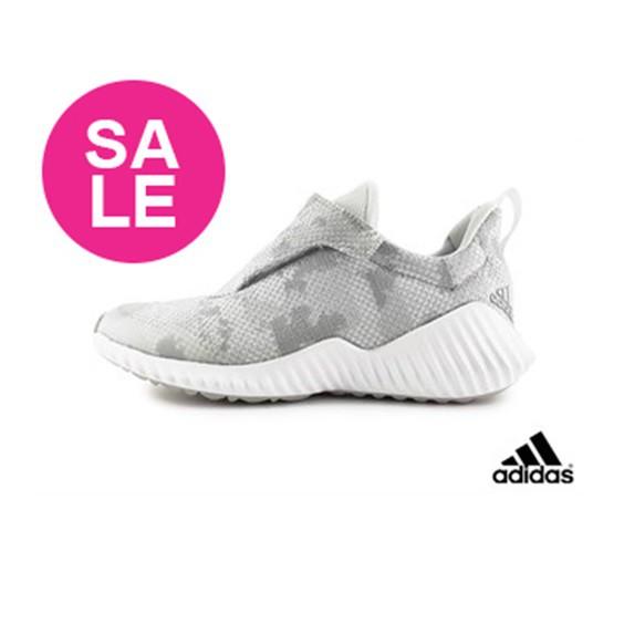 【出清免運】adidas 愛迪達 兒童運動鞋 FORTARUN AC K 透氣慢跑鞋 Q9312灰色 OSOME奧森鞋業