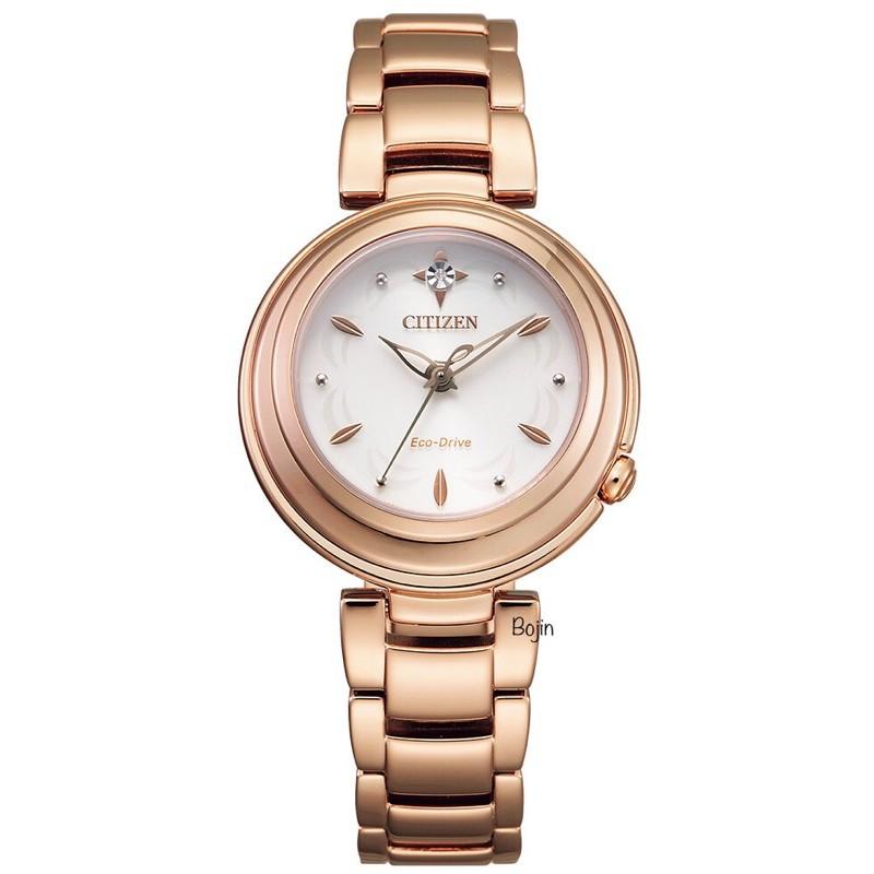 【CITIZEN 星辰錶】L系列光動能錶 EM0583-84A【Bojin Watch】