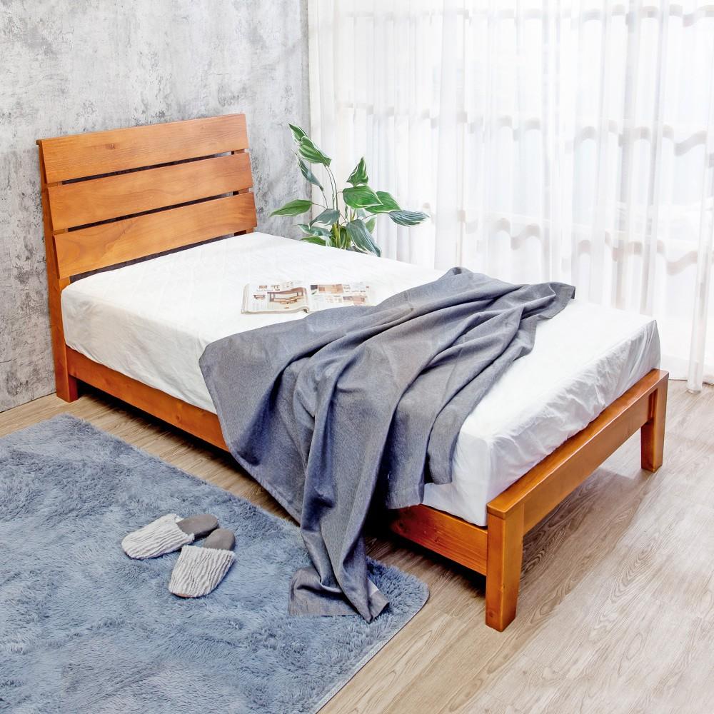 Boden-萊恩3.5尺單人全實木床架(不含床墊)