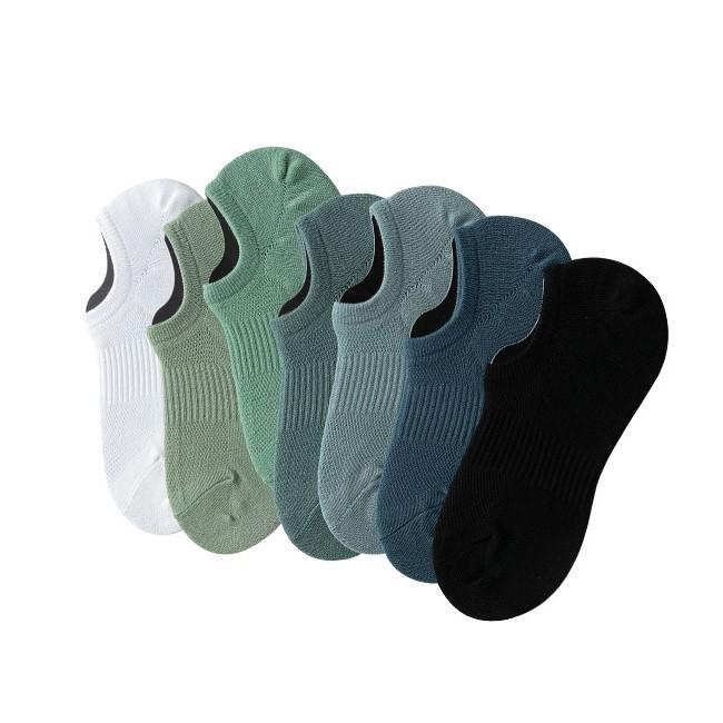 大唐襪業 D530男款襪子新品束腰網眼透氣吸汗隱形襪純色短襪簡約純色休閒襪批發
