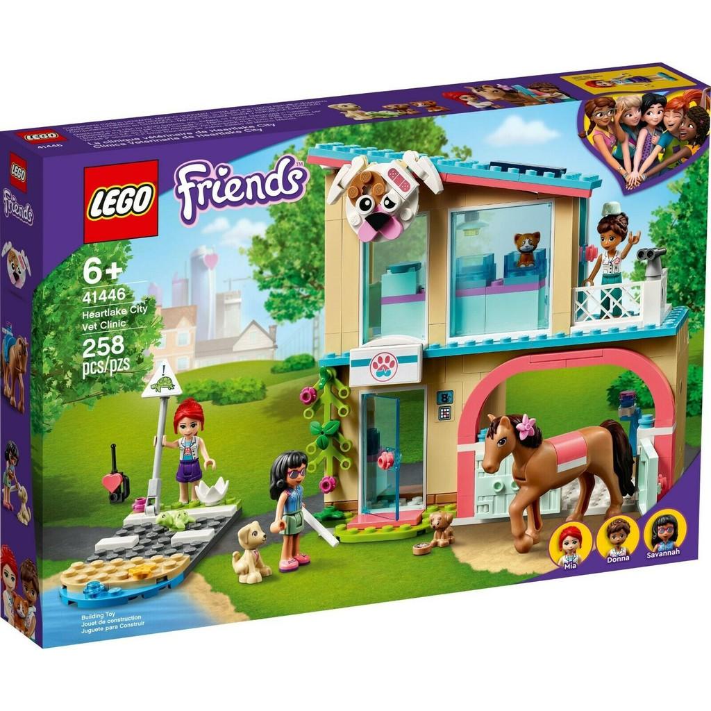 LEGO 樂高 41446 心湖城獸醫診所