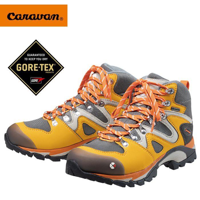 【Caravan 日本】C4_03 Hiking 健行鞋 登山鞋 戶外鞋 女款 番紅花 (0010403-333)