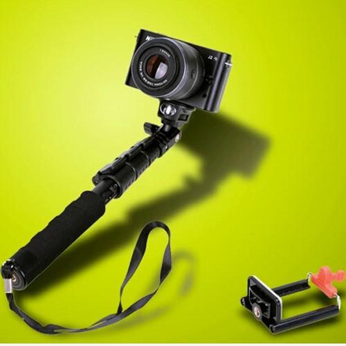 fujiei 迷你便攜式手機相機鋁合金伸縮自拍桿 輕巧收納 29CM-88cm便攜自拍桿/手機手持自拍支架 旅遊自拍神器