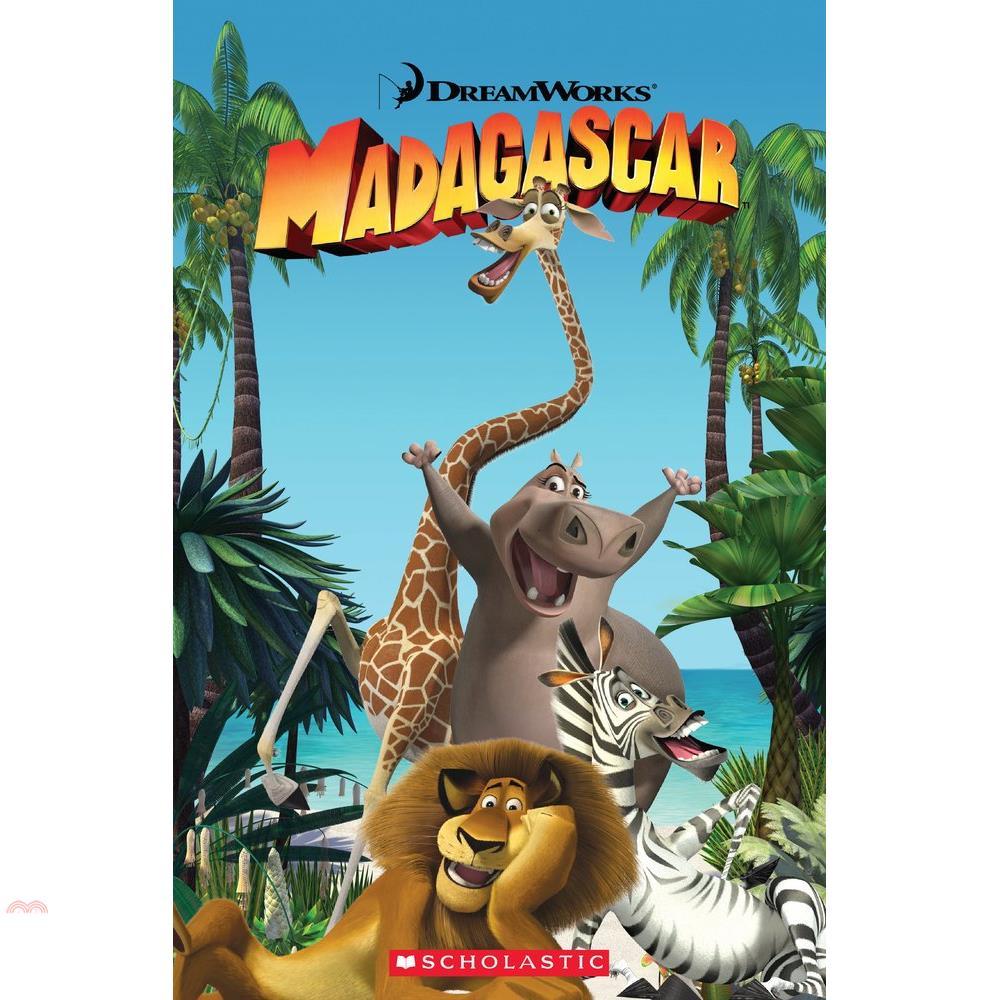 Madagascar 1 (Book & CD)【三民網路書店】(有聲書)[5折]