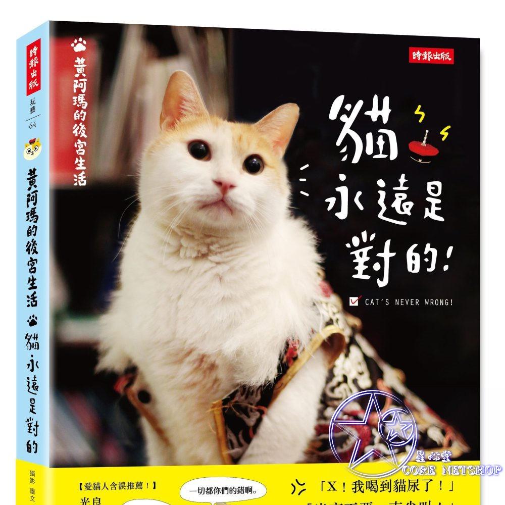 黃阿瑪的後宮生活 貓永遠是對的  黃阿瑪 志銘 狸貓