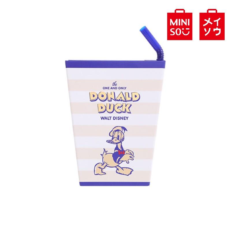 【MINISO名創優品】唐老鴨系列可樂杯造型帶筆筆記本120頁