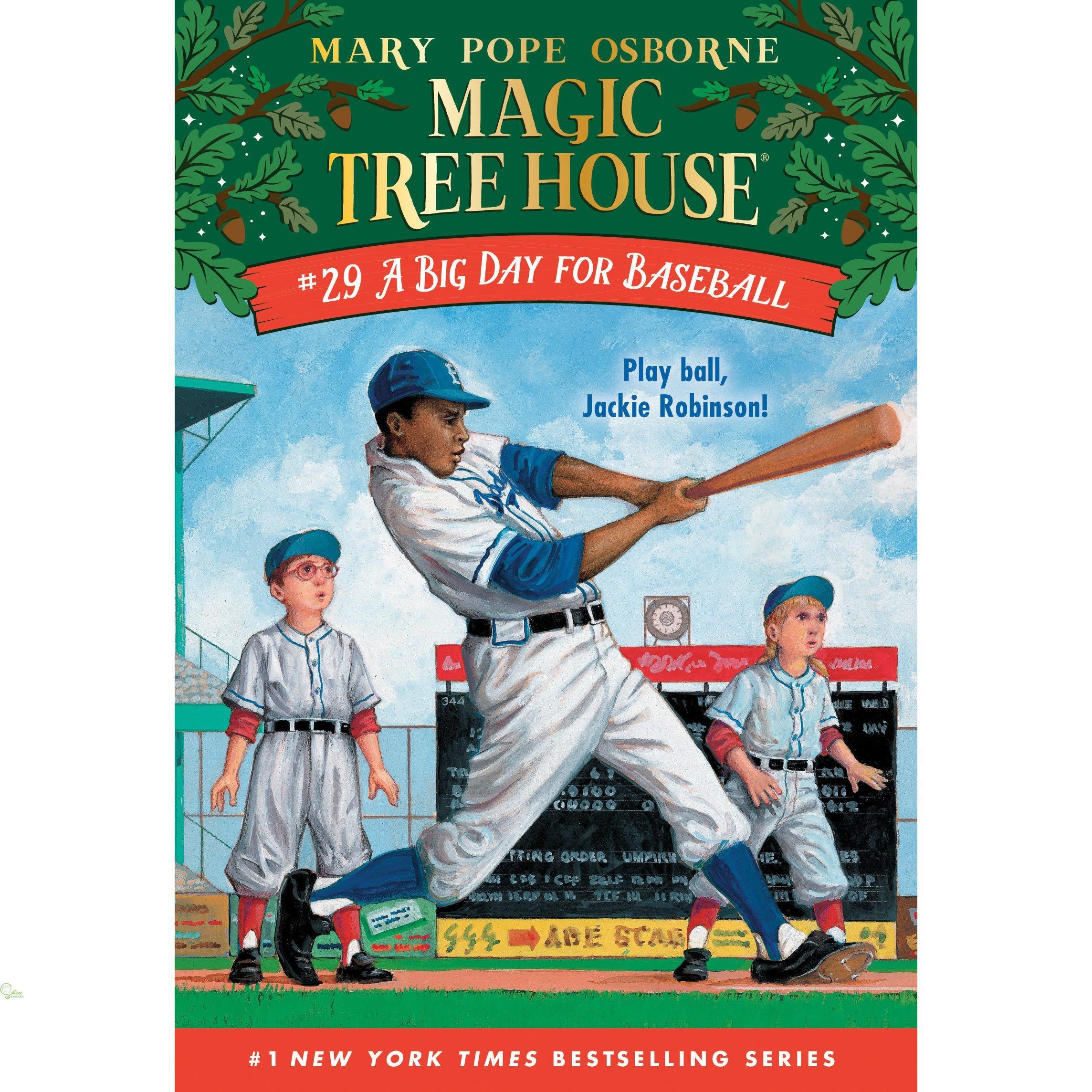 Magic Tree House #29: A Big Day for Baseball【禮筑外文書店】[73折]