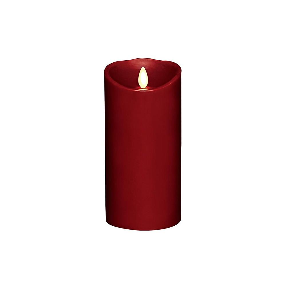 【Veraflame】 擬真火焰搖擺蠟燭 7吋(淺綠色/紅色/象牙白)《WUZ屋子》