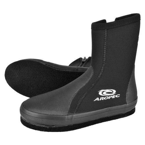 Aropec 溯溪鞋/防滑套鞋/浮潛鞋/防滑鞋 菜瓜布底 5mm 加厚彈性潛水布料  BT-50BF-BK