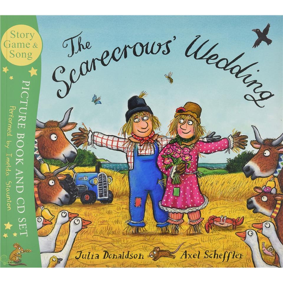 The Scarecrows' Wedding (Book & CD)【禮筑外文書店】(有聲書)[79折]