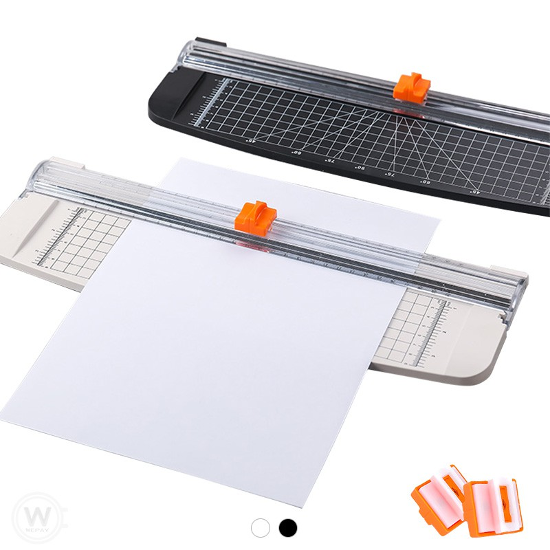 裁切機 (實拍+用給你看) 【帶標尺升級款】 裁紙機 切割器 A4裁紙機 滑動式裁紙器 割紙刀 切紙器 裁切器 切紙器