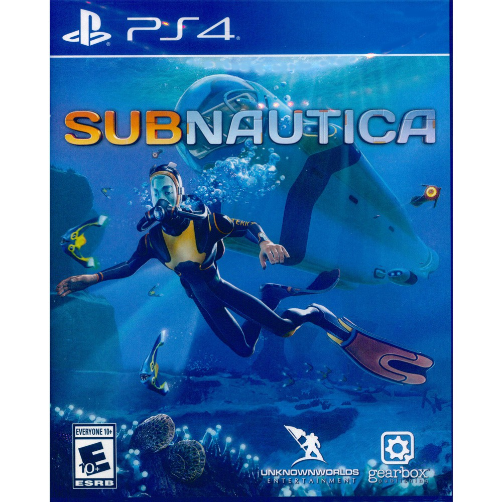 PS4 深海迷航 英文美版 Subnautica【一起玩】(現貨全新)