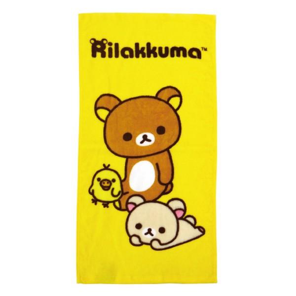 拉拉熊好夥伴童巾【康是美】