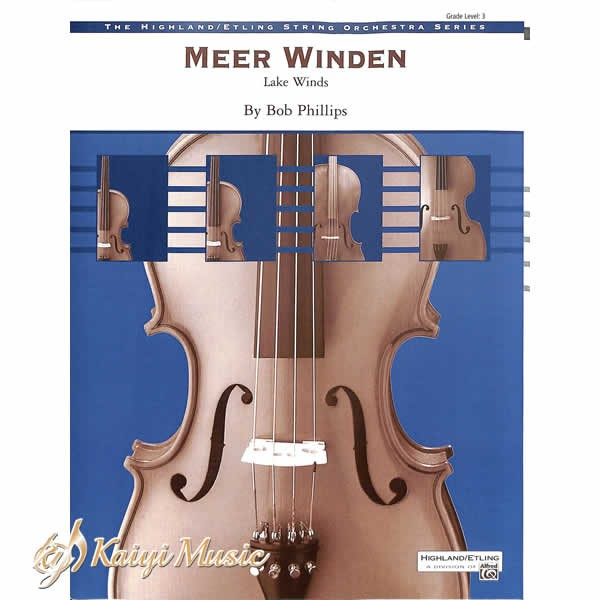 【Kaiyi Music】Meer winden lake winds by bob phillips