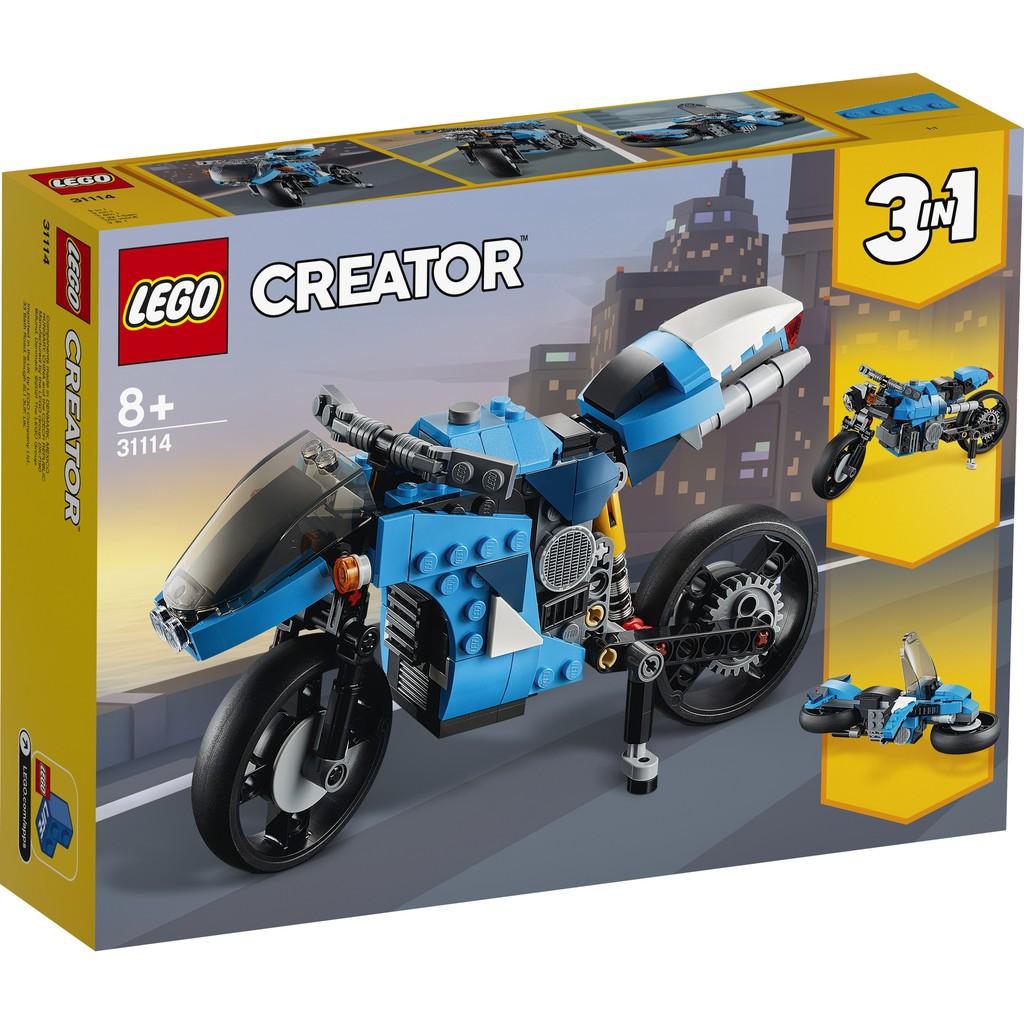LEGO 樂高 31114 超級摩托車
