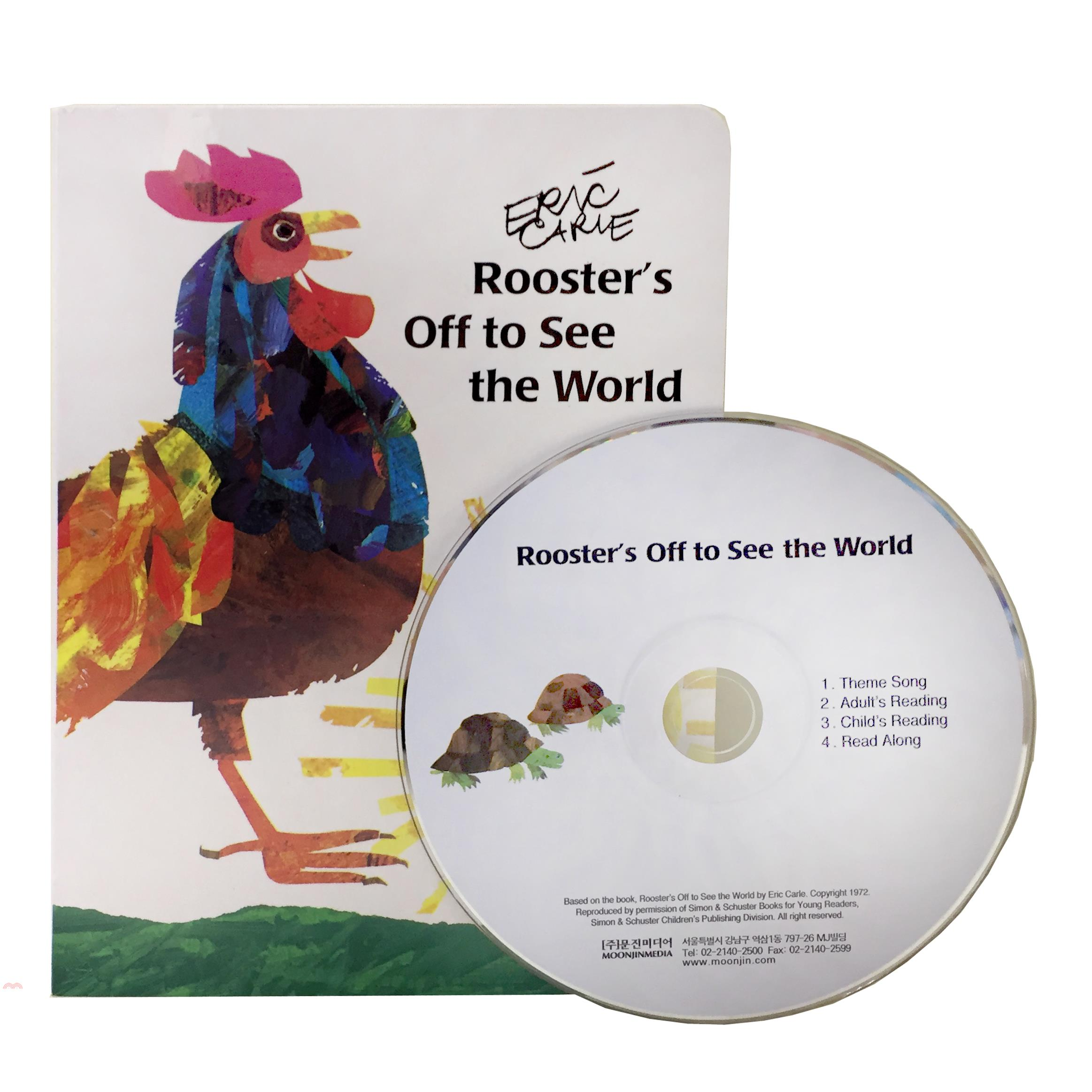 Rooster's off to See the World (with audio CD)【三民網路書店】[85折]