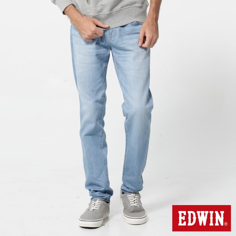 EDWIN 503 基本五袋小直筒牛仔褲(重漂藍)-男款