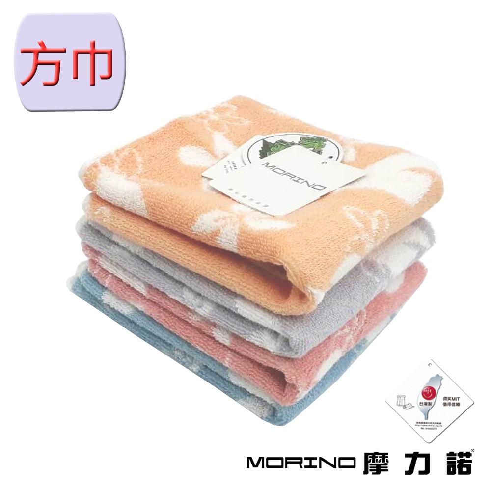 【MORINO摩力諾】美國棉油桐花方巾 MO662