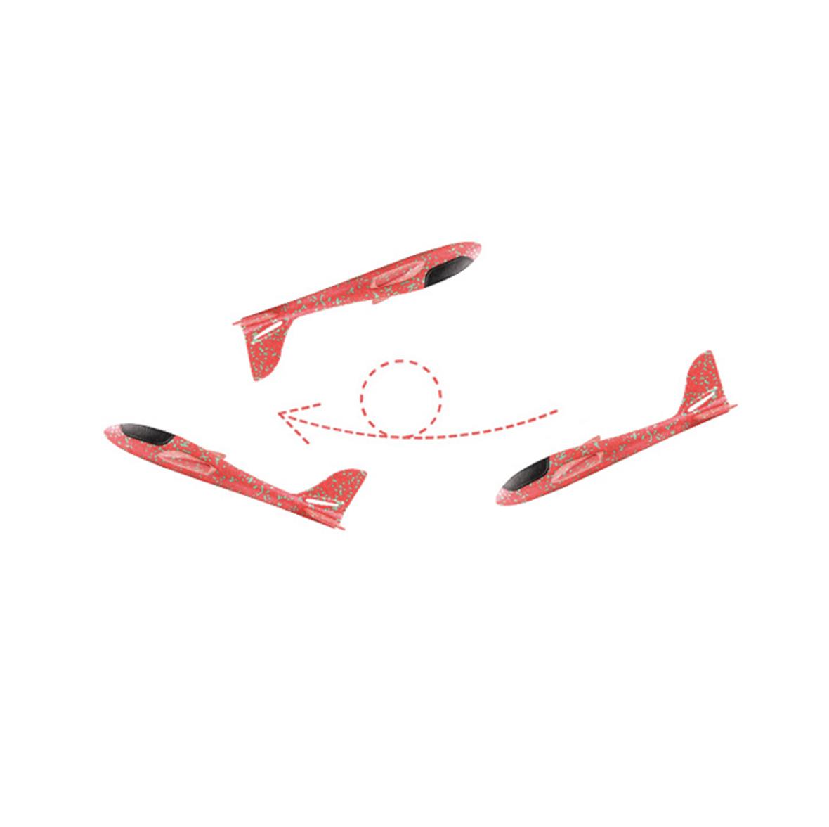 (商檢合格認證)手拋飛機 飛機模型手拋飛機   翻轉迴旋  手擲飛機