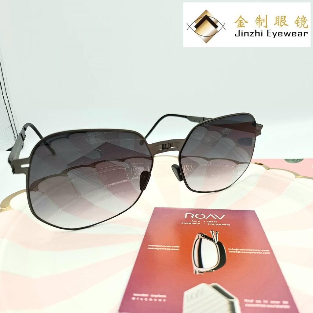 ROAV 摺疊光學眼鏡 MODNY001-C12.41 [金制眼鏡]