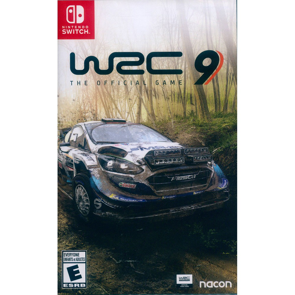 NS SWITCH WRC9 世界越野冠軍賽 9 中英文美版 WRC 9 【一起玩】