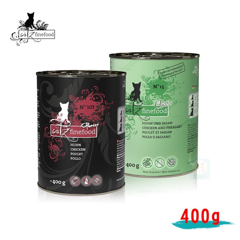 【凱茲 Catz】貓罐 400g 貓咪 低敏無穀 主食罐 無穀 鮮肉 主食貓罐 單一肉種-柴夫人寵物館