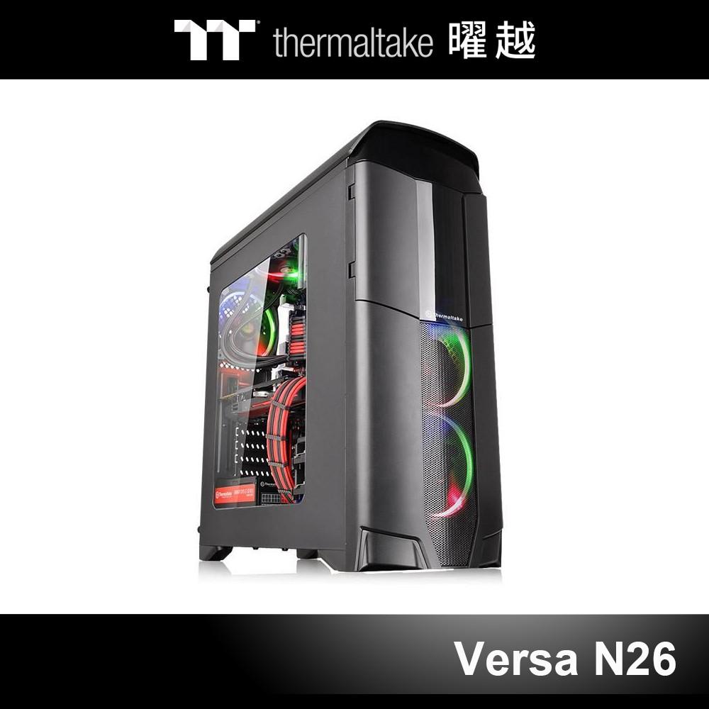 曜越 Versa N26 中直立式開窗機殼 CA-1G3-00M1WN-00