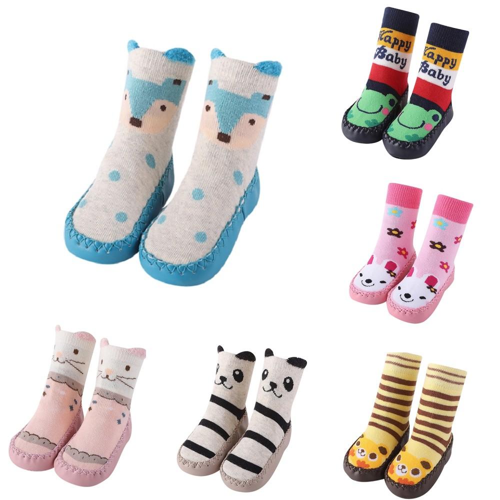 Baby童衣 寶寶學步鞋 童鞋 鞋襪 地板襪 防滑顆粒卡通圖案室內鞋襪 88270