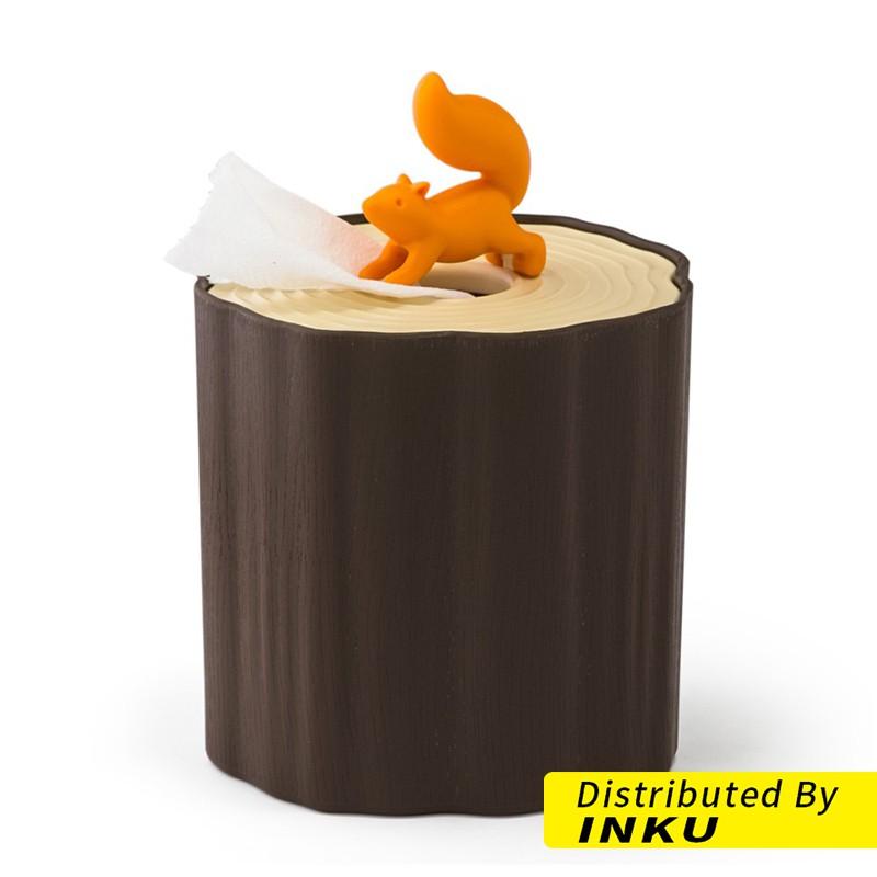 QUALY 松鼠愛森林-捲筒衛生紙盒 生活小物 面紙盒 造型捲筒紙盒 i-D [現貨]