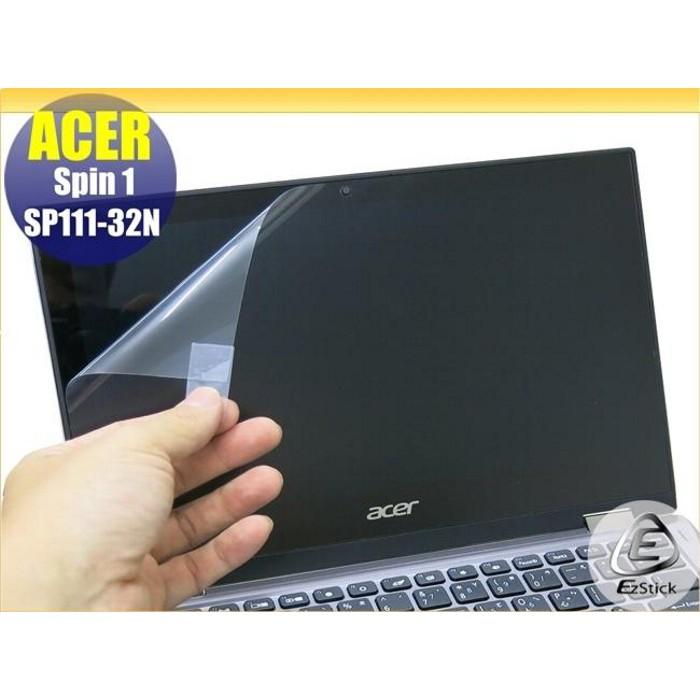 【Ezstick】ACER Spin 1 SP111-32N 靜電式筆電LCD液晶螢幕貼 (可選鏡面防汙或霧面)