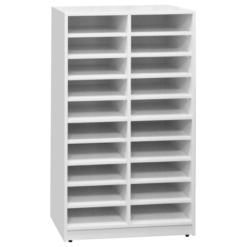【C1013-04】白色文件資料櫃(C-149)(20中格)