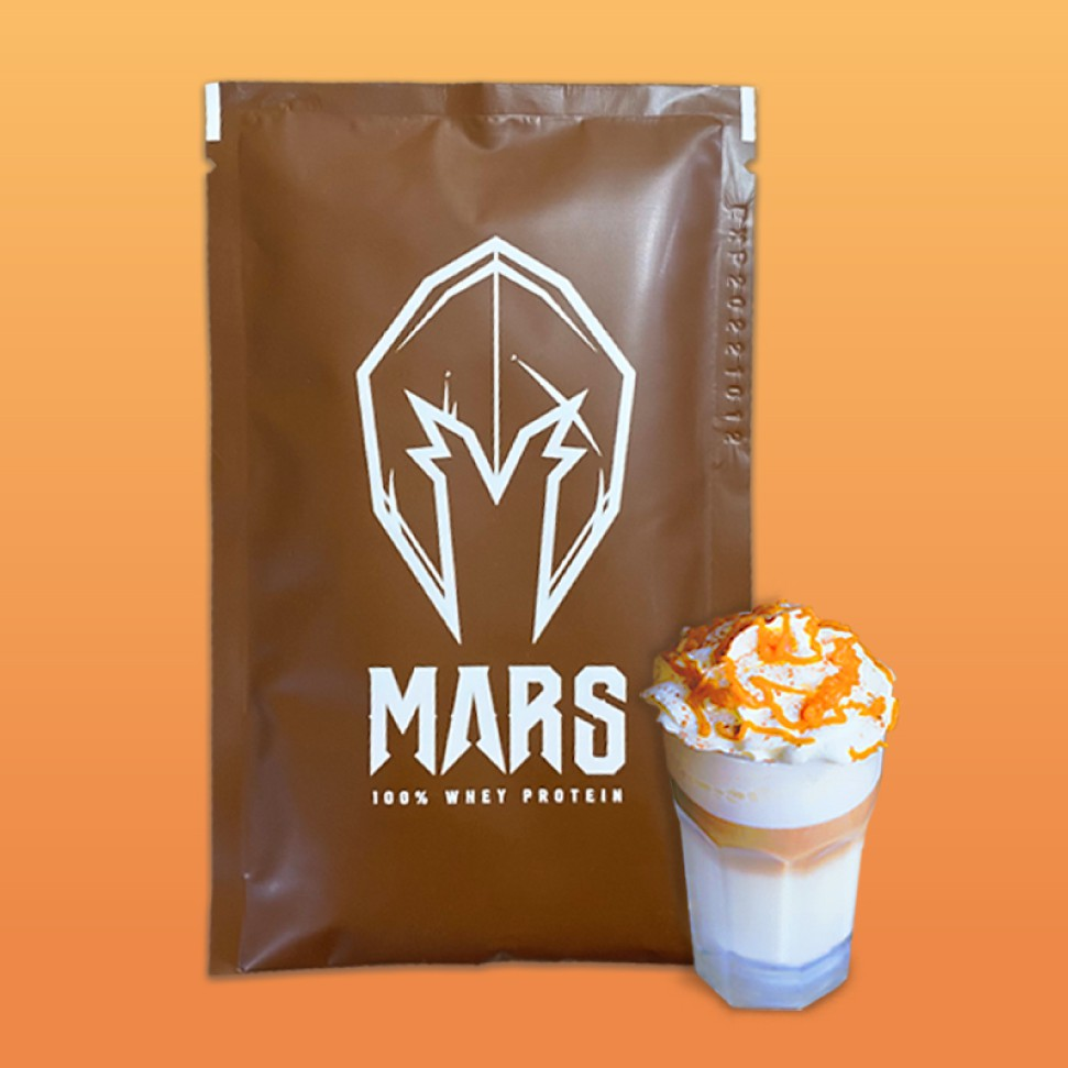 MARS 戰神 乳清蛋白 焦糖瑪奇朵 滿60包送2包 / 滿10包送戰神乳清1包  贈品口味自選 刷卡分期0利率
