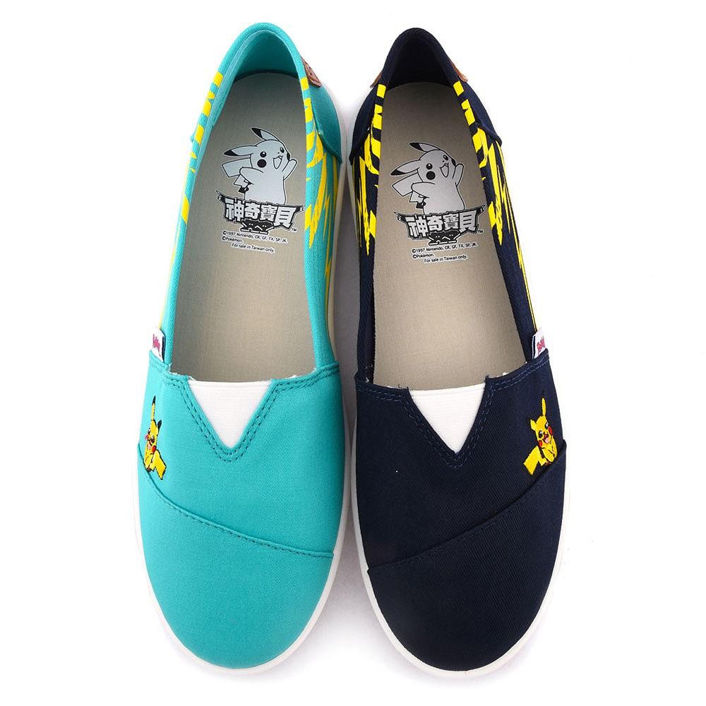 鞋次方 神奇寶貝(寶可夢)  電波設計帆布鞋 女款 PA7312
