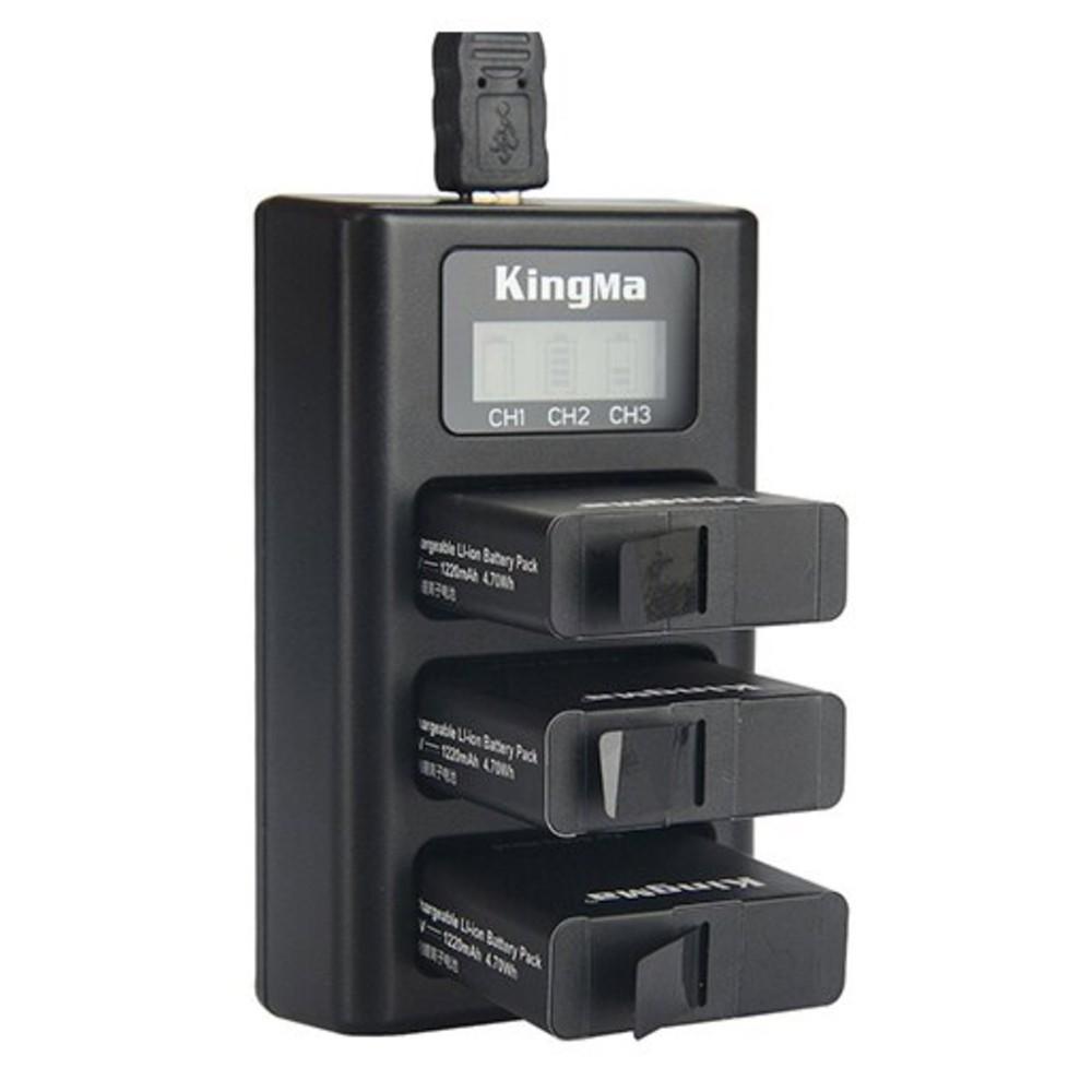 KingMa 勁碼 BM043 USB 三充座 For SPJB1B GoPro [相機專家] [公司貨]