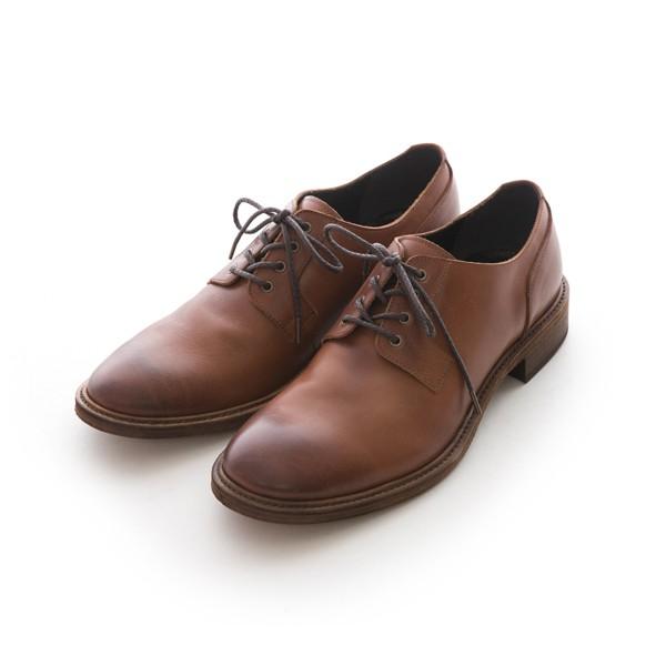 ARGIS Vibram皮革鞋底德比紳士皮鞋  【21342咖啡】日本手工製