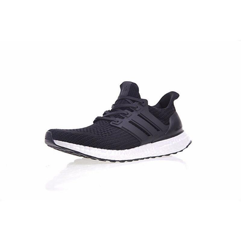 ADIDAS ULTRA BOOST 4.0 休閒 百搭 黑白 慢跑鞋 運動 BB6166