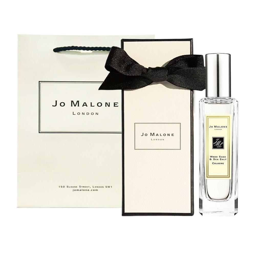 Jo Malone 鼠尾草與海鹽 30ml / 100ml (附紙盒+提袋+緞帶)〔5295香水美妝〕