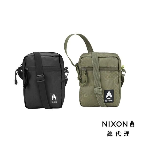 NIXON STASH 吐司包 側肩小背包 斜肩包 黑 綠 中性款 背包 戶外 滑板 街頭 衝浪 小包 包包 單車