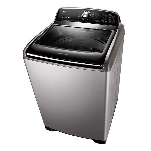東元變頻微米氣泡智能洗衣機 19KG  【大潤發】